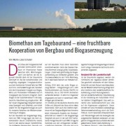 Biogas Journal 1/2016: Biomethan am Tagebaurand